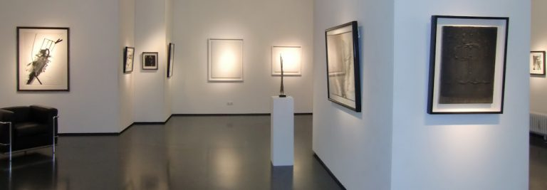 Ausstellung black meets white 2017 Galerie Maulberger 02