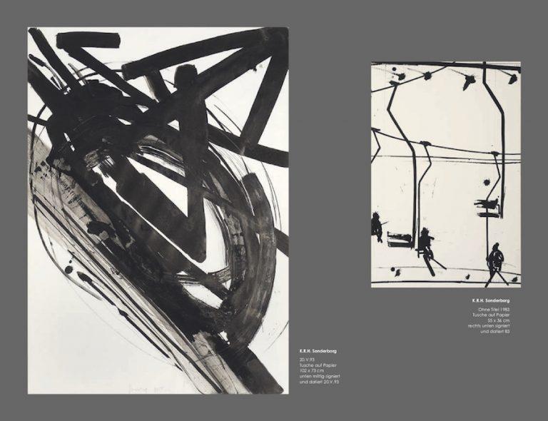Einladungskarte Ausstellung Sonderborg Stöhrer 2018 Galerie Maulberger 05