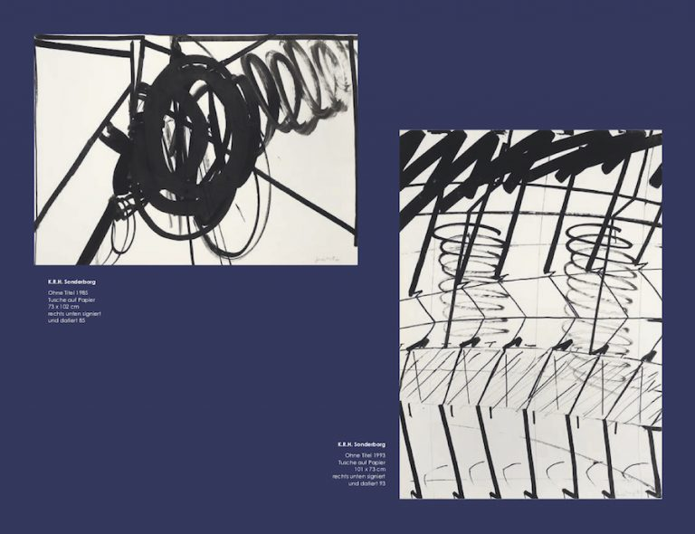 Einladungskarte Ausstellung Sonderborg Stöhrer 2018 Galerie Maulberger 06