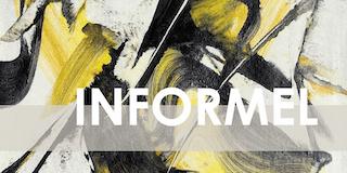Einladungskarte Ausstellung INFORMEL 2018 Galerie Maulberger