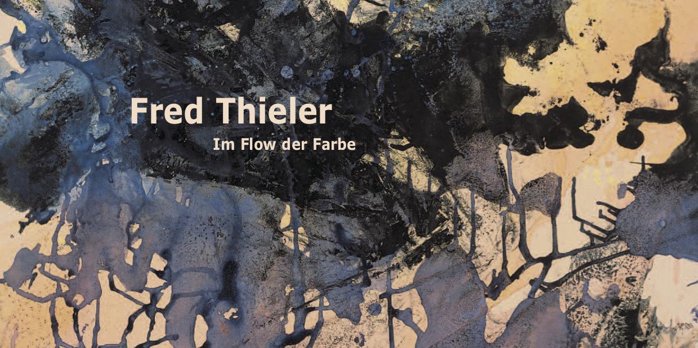 Einladungskarte Ausstellung Fred Thieler 2011 Galerie Maulberger
