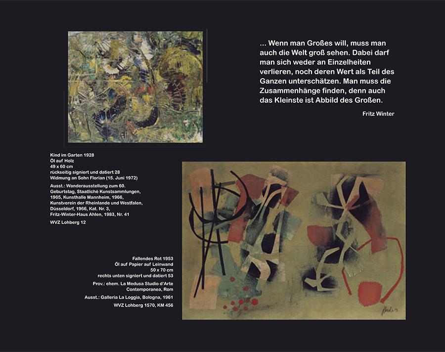 Einladungskarte Ausstellung Fritz Winter 2011 Galerie Maulberger 03