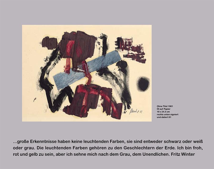 Einladungskarte Ausstellung Fritz Winter 2011 Galerie Maulberger 04