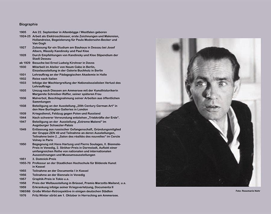 Einladungskarte Ausstellung Fritz Winter 2011 Galerie Maulberger 07