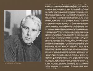 Einladungskarte Ausstellung Karl Fred Dahmen 2012 Galerie Maulberger 02