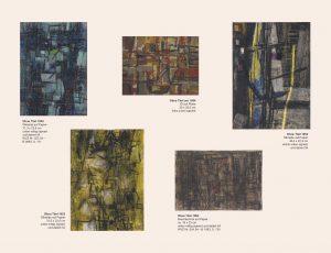 Einladungskarte Ausstellung Karl Fred Dahmen 2012 Galerie Maulberger 06