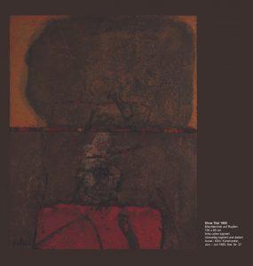 Einladungskarte Ausstellung Karl Fred Dahmen 2012 Galerie Maulberger 07