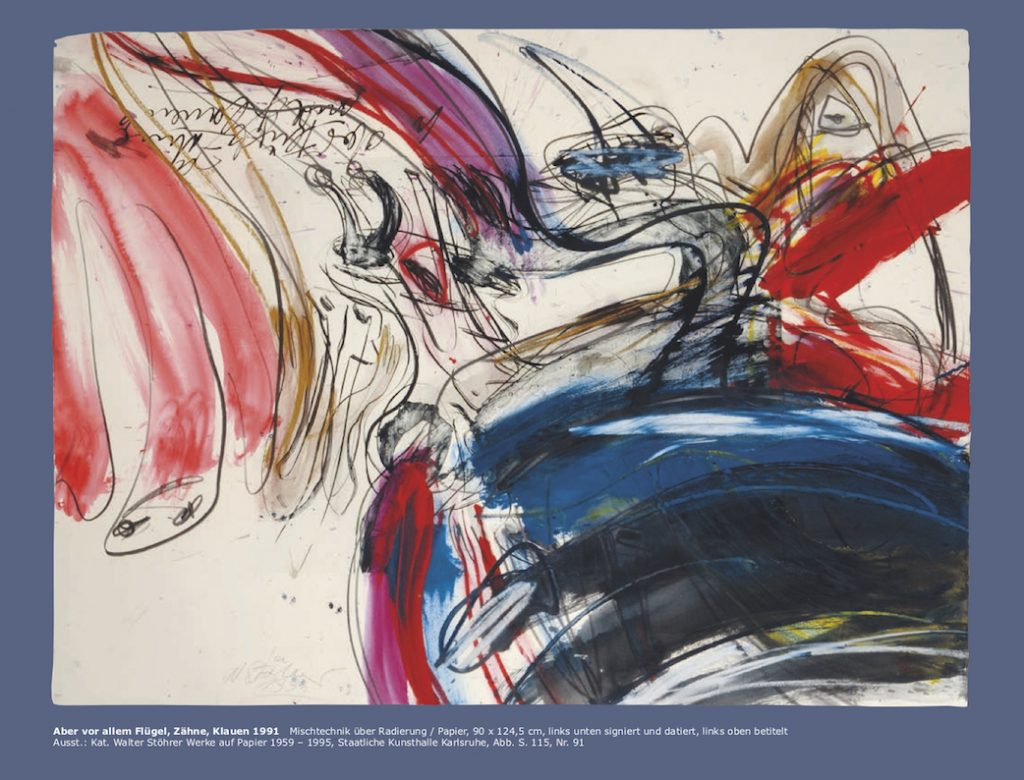Einladungskarte Ausstellung Walter Stöhrer 2012 Galerie Maulberger 04