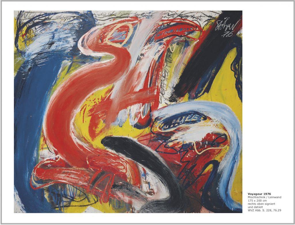 Einladungskarte Ausstellung Walter Stöhrer 2012 Galerie Maulberger 05