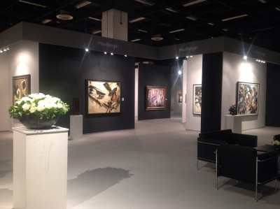 Messestand Galerie Maulberger<br>Cologne Fine Art 2013<br>20.11.-24.11.2013