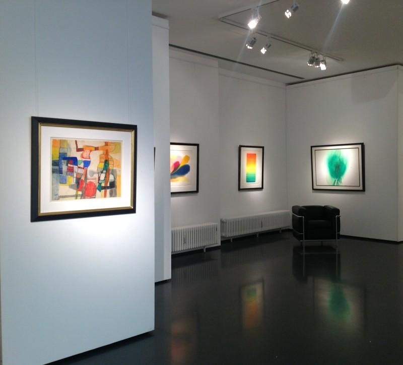 Ausstellung Papierstationen 2013 Galerie Maulberger