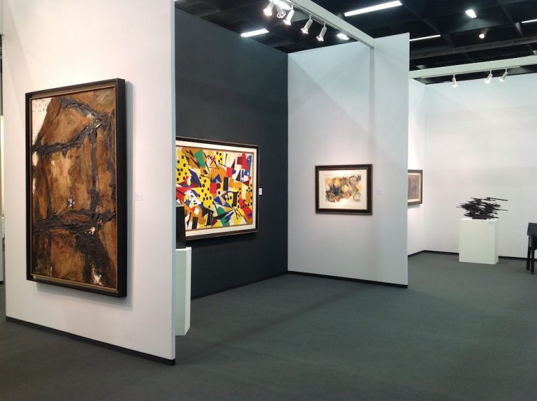 Messestand Galerie Maulberger<br>Art Cologne 2014<br>10.04.-13.04.2014