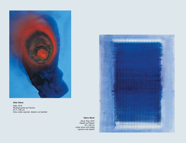 Einladungskarte Ausstellung Bernard Aubertin und Zeitgenossen 2014 Galerie Maulberger 04