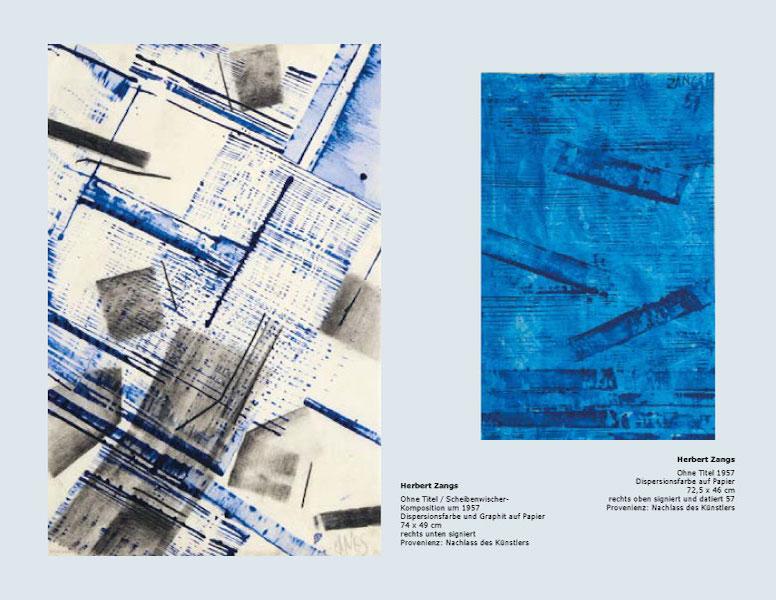 Einladungskarte Ausstellung Bernard Aubertin und Zeitgenossen 2014 Galerie Maulberger 05