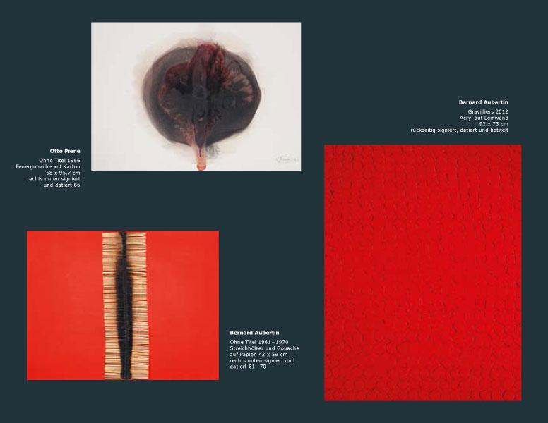 Einladungskarte Ausstellung Bernard Aubertin und Zeitgenossen 2014 Galerie Maulberger 07