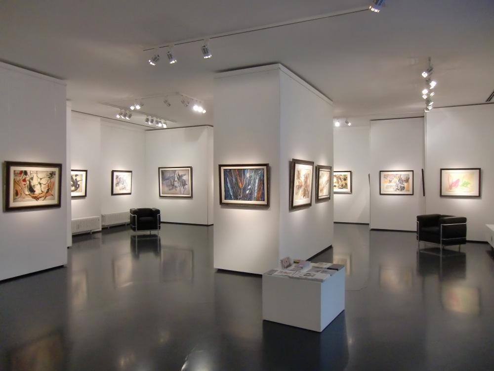 Ausstellung Theodor Werner / Conrad Westpfahl 2015 Galerie Maulberger 01