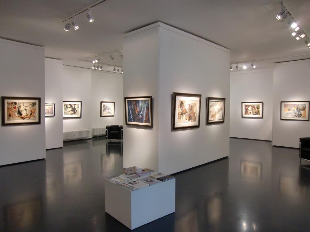 Ausstellung Theodor Werner / Conrad Westpfahl 2015 Galerie Maulberger 02