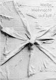 Einladungskarte Ausstellung Weiße Weihnacht auf Sylt 2015 Galerie Maulberger