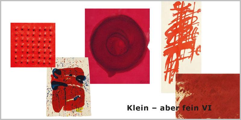 Einladungskarte Ausstellung Klein-aber fein VI 2015 Galerie Maulberger