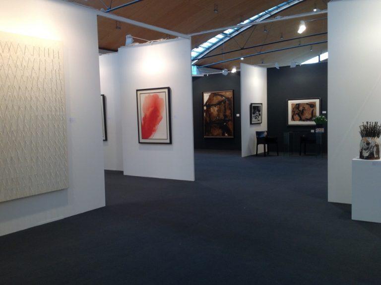 Messestand Galerie Maulberger<br>Art Karlsruhe 2016<br>18.02.-21.02.2016