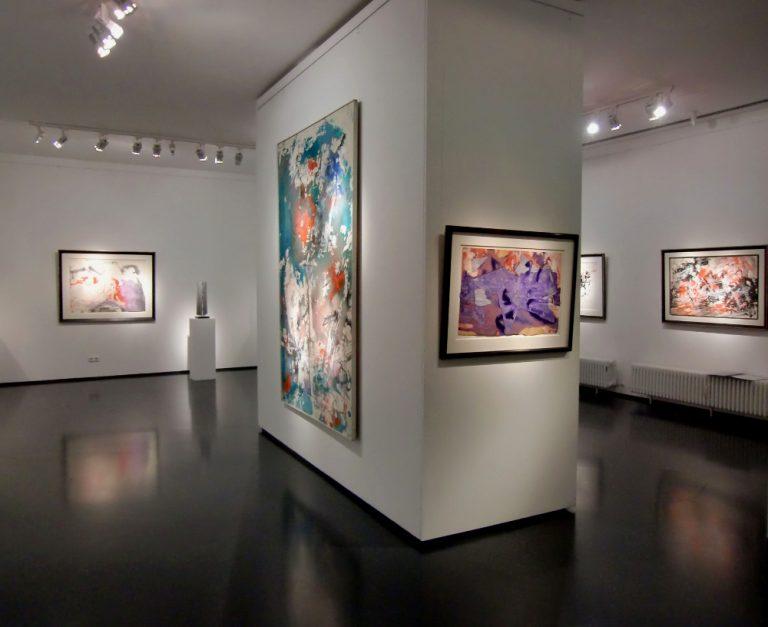Ausstellung Fred Thieler Hommage 100 Geburtstag 2016 Galerie Maulberger 01