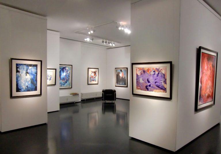 Ausstellung Fred Thieler Hommage 100 Geburtstag 2016 Galerie Maulberger 02