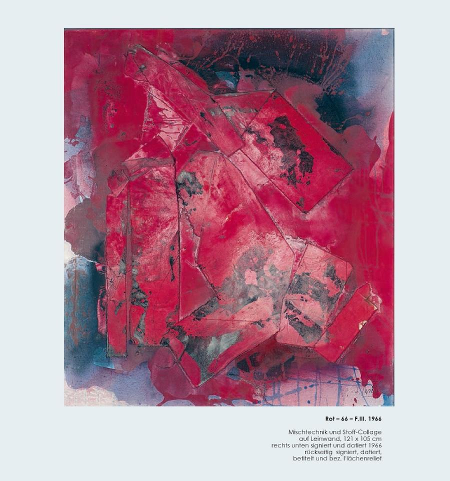 Einladungskarte Ausstellung Fred Thieler Hommage 100 Geburtstag 2016 Galerie Maulberger 02