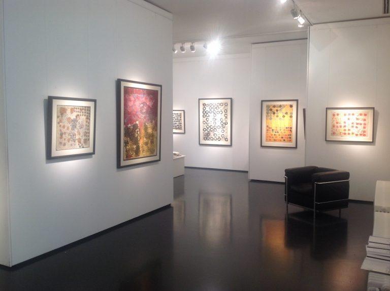 Ausstellung Herbert Zangs 2016 Galerie Maulberger 01