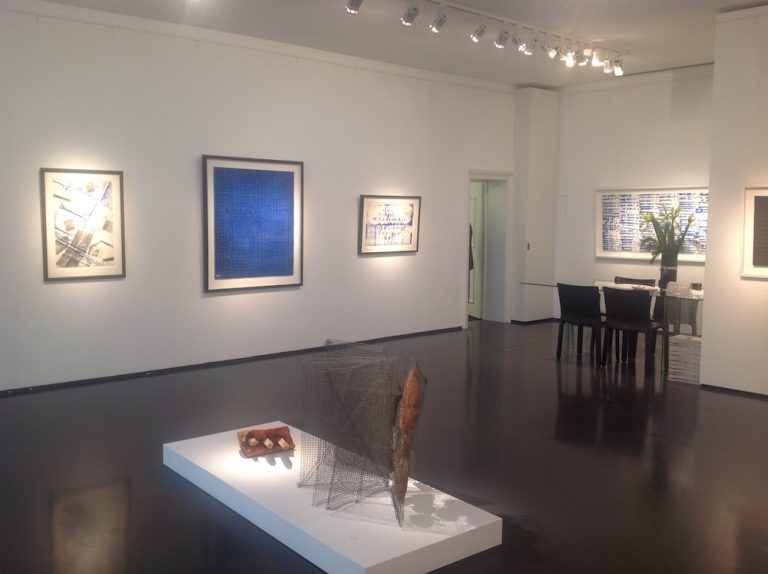 Ausstellung Herbert Zangs 2016 Galerie Maulberger 02