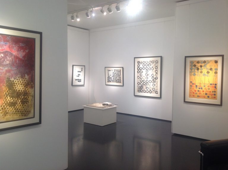 Ausstellung Herbert Zangs 2016 Galerie Maulberger 03