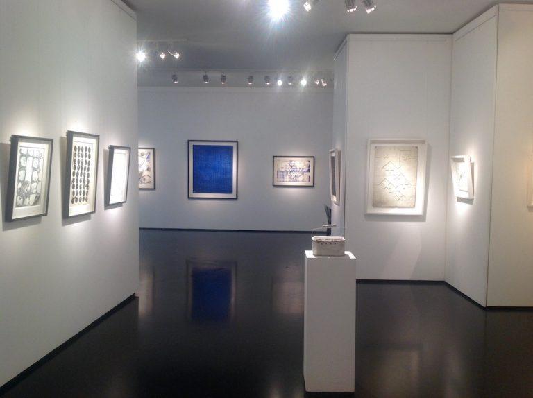 Ausstellung Herbert Zangs 2016 Galerie Maulberger 04