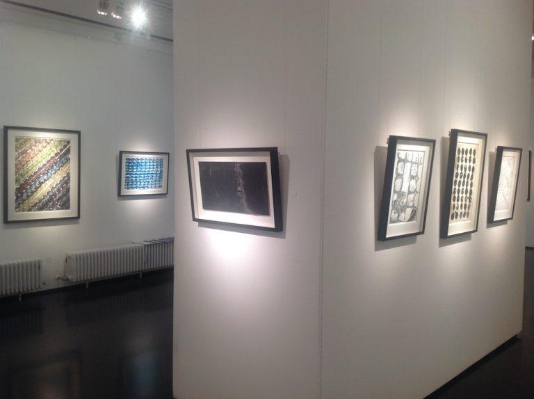 Ausstellung Herbert Zangs 2016 Galerie Maulberger 06