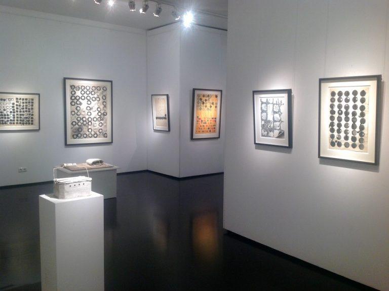 Ausstellung Herbert Zangs 2016 Galerie Maulberger 07