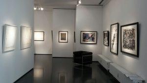 Ausstellung Papierstationen 2016 Galerie Maulberger 01