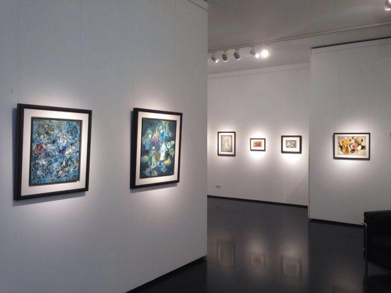 Ausstellung Rolf Cavael - Eine Zeitreise 2016 Galerie Maulberger 02