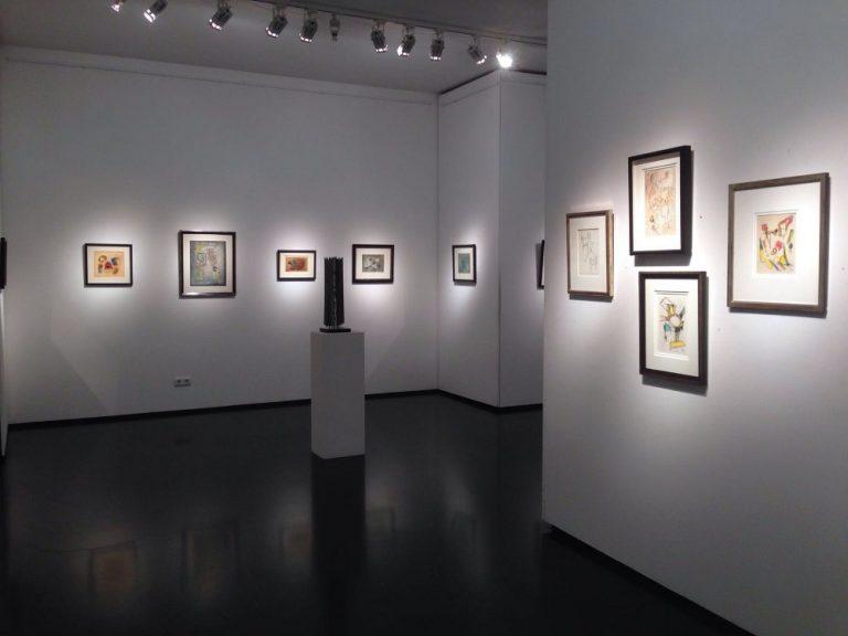 Ausstellung Rolf Cavael - Eine Zeitreise 2016 Galerie Maulberger 03