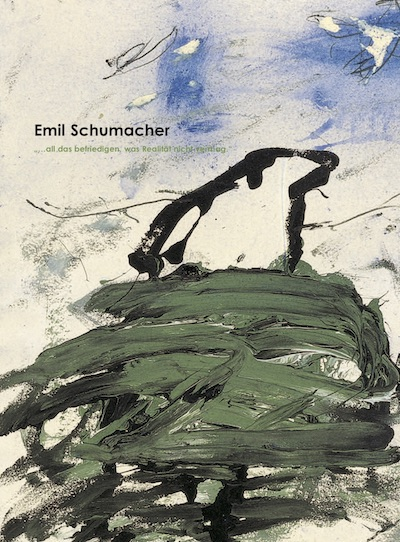 Katalog Emil Schumacher Galerie Maulberger