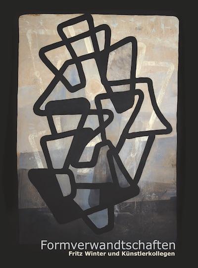 Katalog Formverwandtschaften Fritz Winter Kuenstlerkollegen Galerie Maulberger