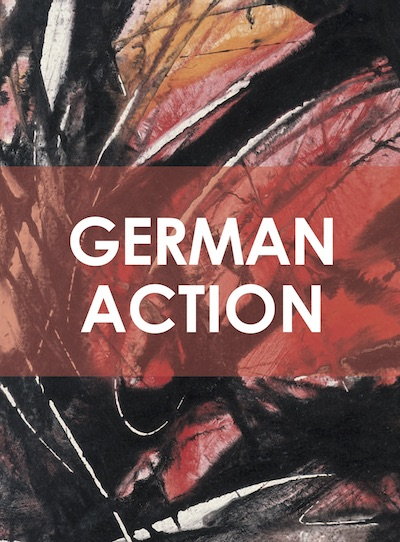 Katalog German Action Galerie Maulberger