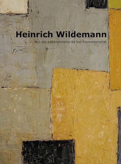 Katalog Heinrich Wildemann Galerie Maulberger
