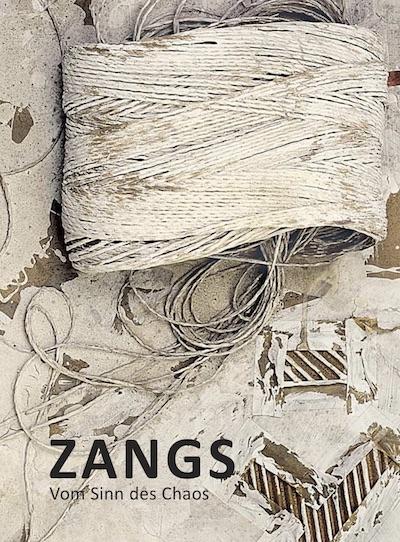 Katalog Herbert Zangs vom Sinn des Chaos Galerie Maulberger