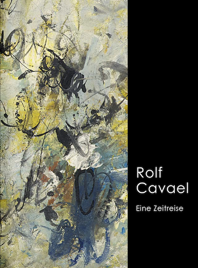 Katalog Rolf Cavael Zeitreise Galerie Maulberger