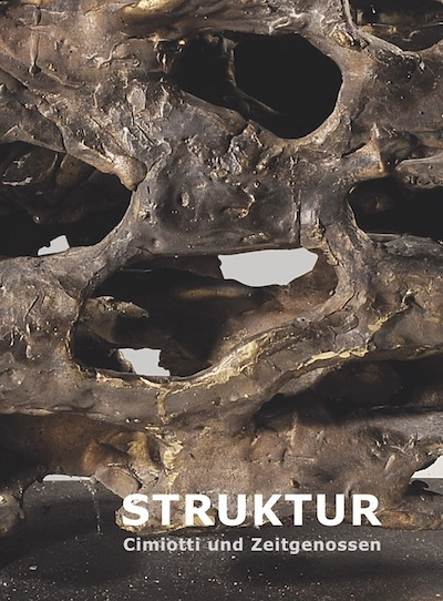 Katalog Struktur Cimiotti Zeitgenossen Galerie Maulberger