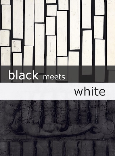 Katalog black meets white Galerie Maulberger
