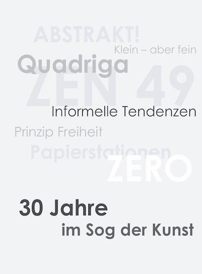 Katalog 30 Jahre im Sog der Kunst Galerie Maulberger