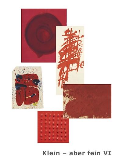 Katalog klein aber fein VI Galerie Maulberger