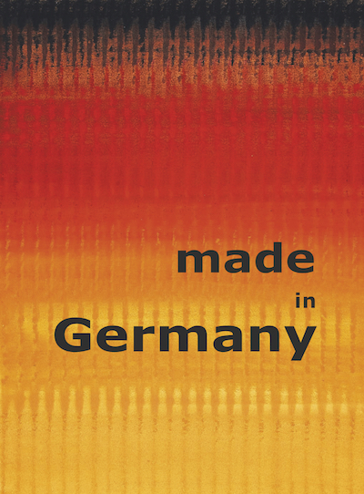 Katalog made in Germany Galerie Maulberger