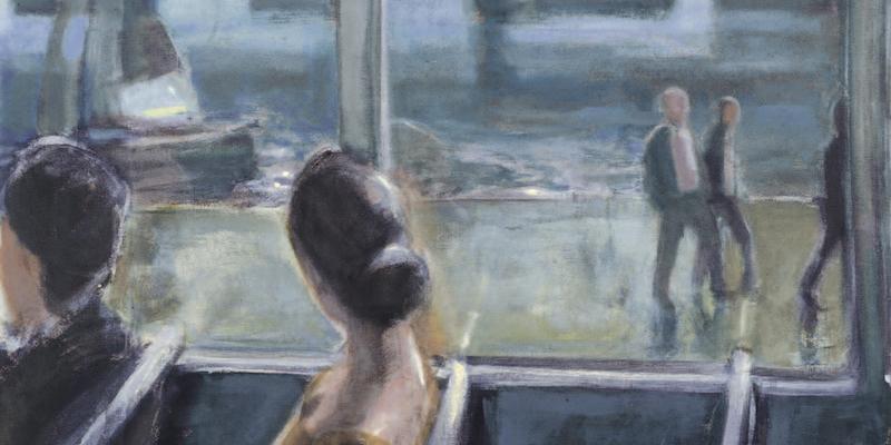Einladungskarte Ausstellung Wolfgang Mueller-Jakob 2006 Galerie Maulberger