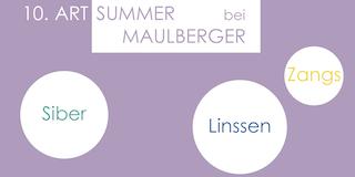 Einladungskarte Ausstellung ART SUMMER 2007 Galerie Maulberger