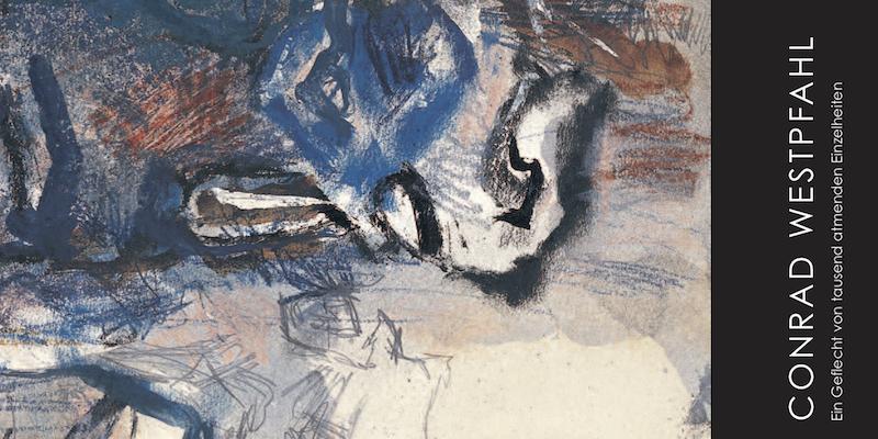 Einladungskarte Ausstellung Conrad Westpfahl 2008 Galerie Maulberger
